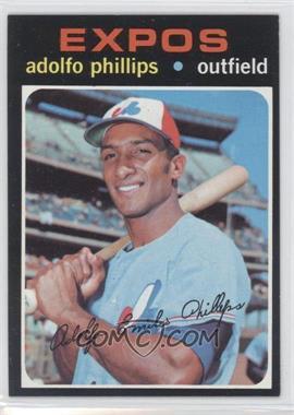 1971 Topps #418 - Adolfo Phillips