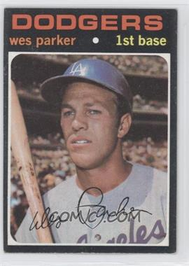 1971 Topps #430 - Wes Parker