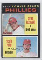 1971 Rookie Stars Phillies (Greg Luzinski, Scott Reid) [GoodtoVG&#8…