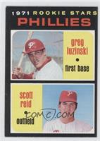 1971 Rookie Stars Phillies (Greg Luzinski, Scott Reid)