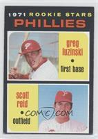 Phillies Rookie Stars (Greg Luzinski, Scott Reid)