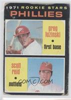 Phillies Rookie Stars (Greg Luzinski, Scott Reid) [Poor]