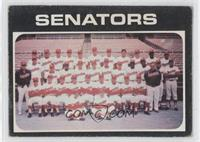 Washington Senators Team [Poor to Fair]