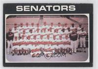 Washington Senators Team