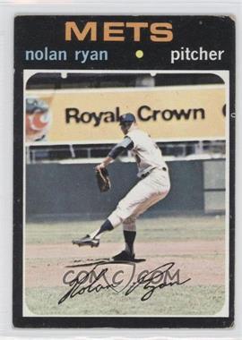 1971 Topps #513 - Nolan Ryan [GoodtoVG‑EX]