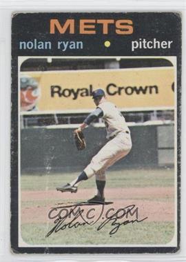 1971 Topps #513 - Nolan Ryan