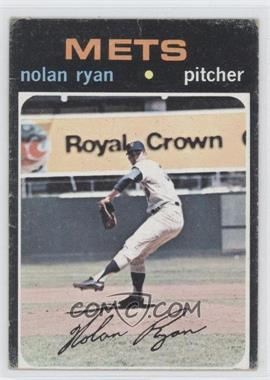 1971 Topps #513 - Nolan Ryan [Good to VG‑EX]