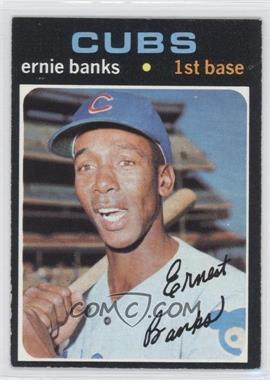 1971 Topps #525 - Ernie Banks
