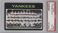 New York Yankees Team [PSA 4]