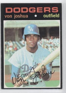 1971 Topps #57 - Von Joshua