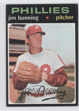 1971 Topps #574 - Jim Bunning