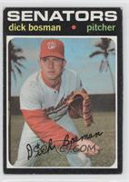Dick Bosman [Poor to Fair]