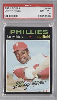 1971 Topps #616 - Larry Hisle [PSA8]