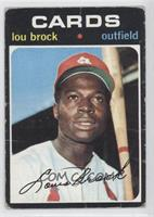 Lou Brock [Good to VG‑EX]