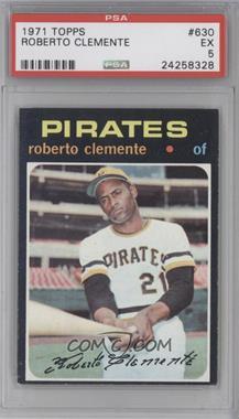 1971 Topps #630 - Roberto Clemente [PSA5]