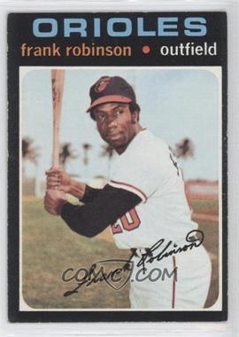 1971 Topps #640 - Frank Robinson