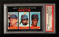 Mets Rookie Stars (Rich Folkers, Ted Martinez, Jon Matlack) [PSA7]