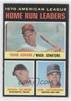 1970 American League Home Run Leaders (Frank Howard, Harmon Killebrew, Carl Yas…