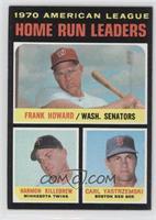 1970 American League Home Run Leaders (Frank Howard, Harmon Killebrew, Carl Yas…
