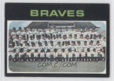 1971 Topps #652 - Atlanta Braves Team