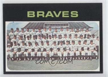 1971 Topps #652 - Atlanta Braves Team