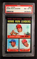 Johnny Bench, Tony Perez, Billy Williams [PSA 8]
