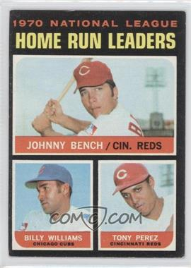 1971 Topps #66 - Johnny Bench, Tony Perez