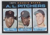 A.L. Rookie Pitchers (Hal Haydel, Roger Moret, Wayne Twitchell)