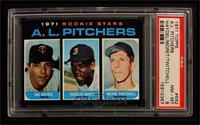 A.L. Rookie Pitchers (Hal Haydel, Roger Moret, Wayne Twitchell) [PSA8]
