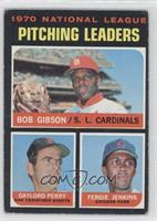 1970 National League Pitching Leaders (Bob Gibson, Gaylord Perry, Fergie Jenkin…