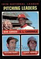 National League Pitching Leaders (Bob Gibson, Gaylord Perry, Fergie Jenkins) [E…