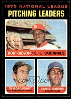 National League Pitching Leaders (Bob Gibson, Gaylord Perry, Fergie Jenkins) [V…