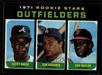 Dusty Baker, Tom Paciorek, Don Baylor [EXMT]