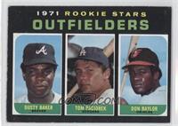 Dusty Baker, Tom Paciorek, Don Baylor