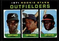 Dusty Baker, Tom Paciorek, Don Baylor [EX MT]