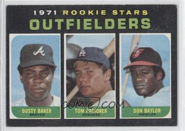 1971 Topps #709 - Dusty Baker, Tom Paciorek, Don Baylor