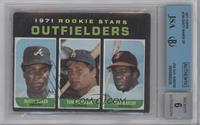 Dusty Baker, Tom Paciorek, Don Baylor [BGS/JSA Certified Auto]