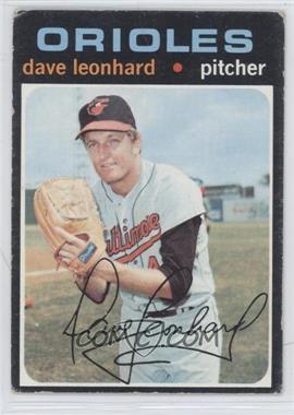 1971 Topps #716 - Dave Leonhard