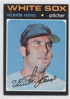 1971 Topps #723 - Vicente Romo