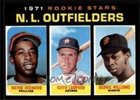 Rookie Stars N.L. Outfielders (Wayne Redmond, Keith Lampard, Bernie Williams) […