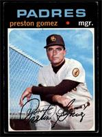 Preston Gomez [VG EX]