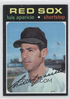 1971 Topps #740 - Luis Aparicio