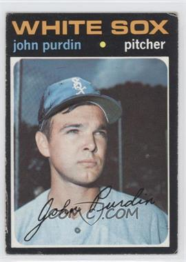 1971 Topps #748 - John Purdin [Good to VG‑EX]