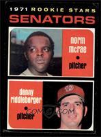 Norm McRae, Denny Riddleberger [EX]