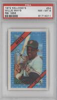Willie Mays (Correct: Career RBI 1856) [PSA 8]