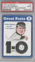 Walter Johnson [PSA 9]