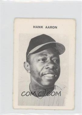 1972 Milton Bradley #N/A - Hank Aaron