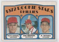 Pete Koegel, Mike Anderson, Wayne Twitchell