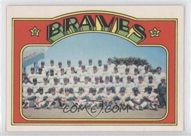 1972 O-Pee-Chee - [Base] #21 - Atlanta Braves Team