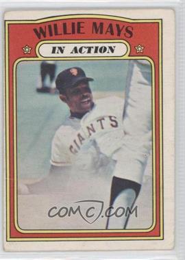 1972 O-Pee-Chee - [Base] #50 - Willie Mays